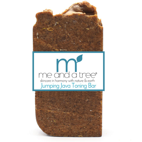 Jumping Java Toning Bar Soap - me and a tree skincare