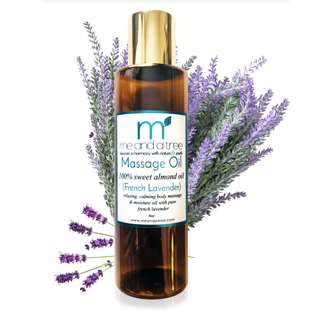 Best Pure Natural Aromatherapy French Lavender Massage Oil