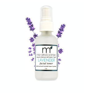 French Lavender Natural Facial Toner - me and a tree skincare