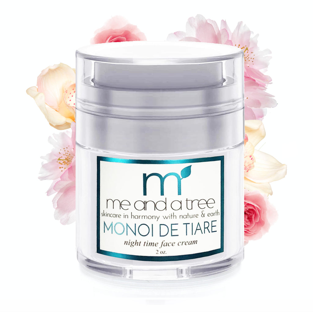 Best Monoi De Tiare Natural Wrinkle Blemish Cream For Men & Women