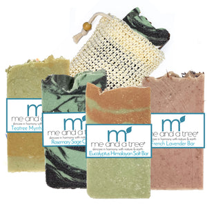 Best Outdoor Natural Vegan Organic Hand Crafted Skin Care Soap Bar Gift Set