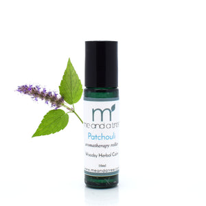 Patchouli Essential Oil Roller 10ml - me and a tree skincare