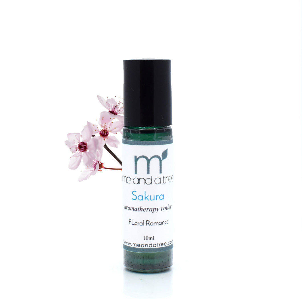 Sakura Essential Oil Roller 10ml - me and a tree skincare