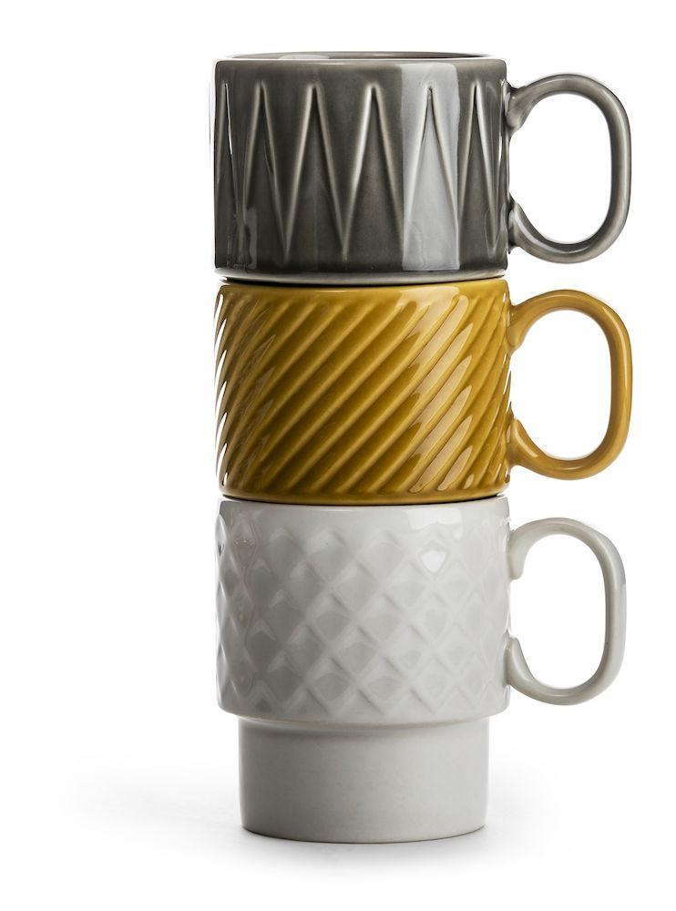Sagaform-  Coffee & More Mug grey