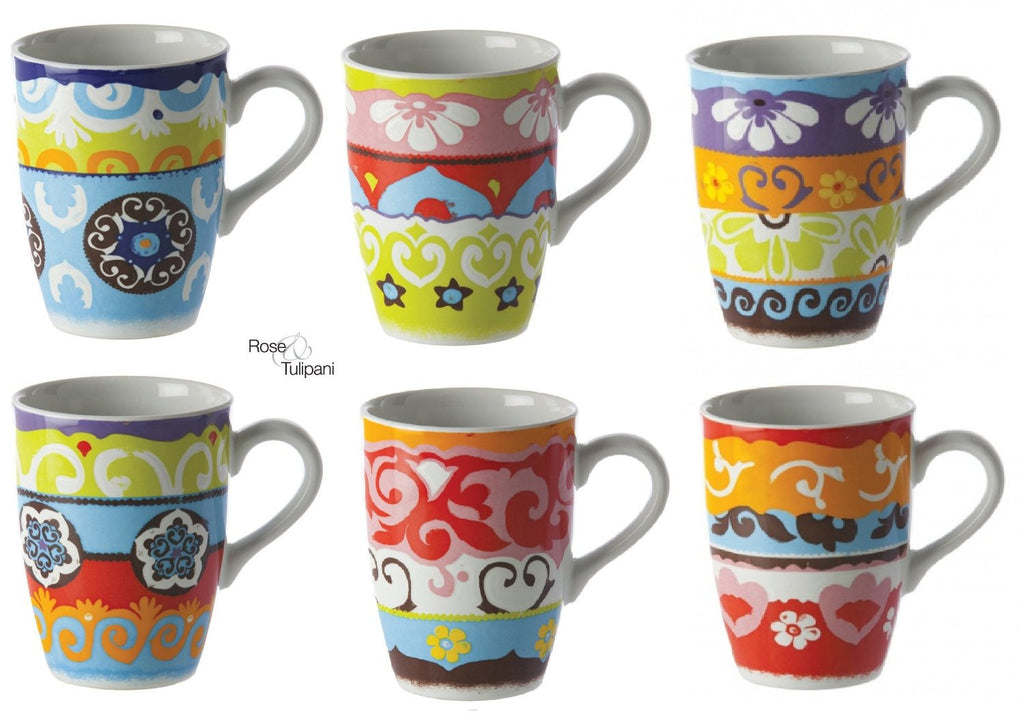 Nador Set of 6 Mugs