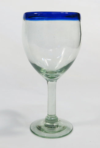 Mexican Wine Glass, Hand made in Mexico ( x1 Wine Glass )