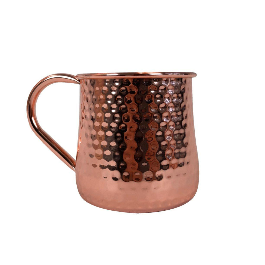 Root 7 Moscow Mule Hammered Copper Mug