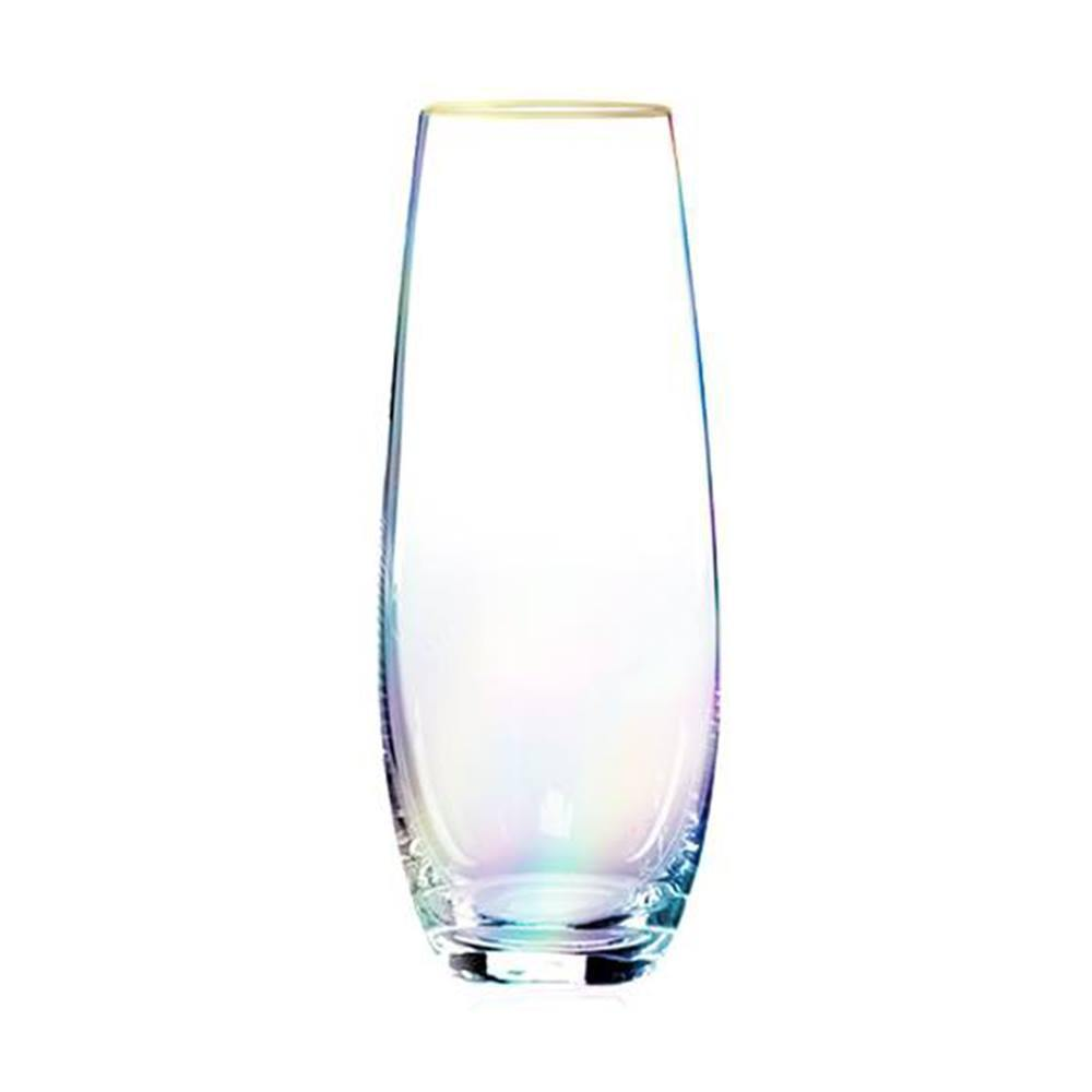 Root 7 Prosecco Stemless 4-pack Rainbow