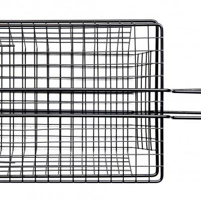 SAGAFORM BBQ Grill basket with black handle