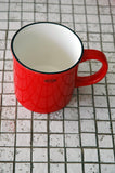 Cabanaz - Ceramic Coffee Mug Scarlet Red