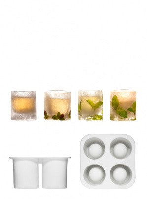 Ice shot glass mould silicone