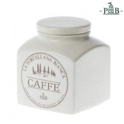La Porcellana Bianca 1.1L COFFEE Storage Jars