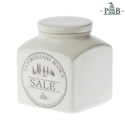 La Porcellana Bianca 1,1L SALT  Storage Jars