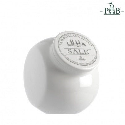 La Porcellana Bianca 0.9/1.45L SALT Storage Jars