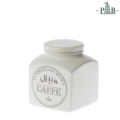 La Porcellana Bianca 0.5L COFFEE Storage Jars