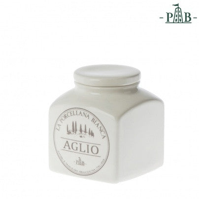 La Porcellana Bianca 0.5L GARLIC Storage Jars