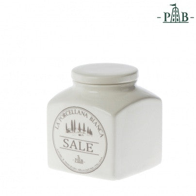 La Porcellana Bianca 0.5L SALT Storage Jars