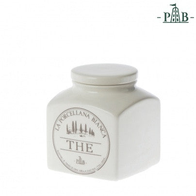 La Porcellana Bianca 0.5L TEA Storage Jars