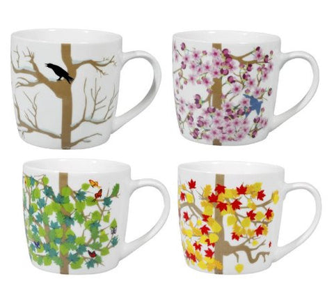 4 SEASONS MUGS set of 4