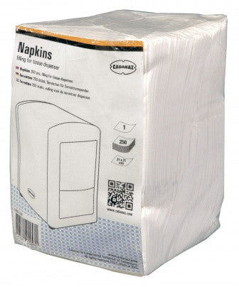 Pack Of 500 tissues For Cabanaz Tissue Dispenser C1002139