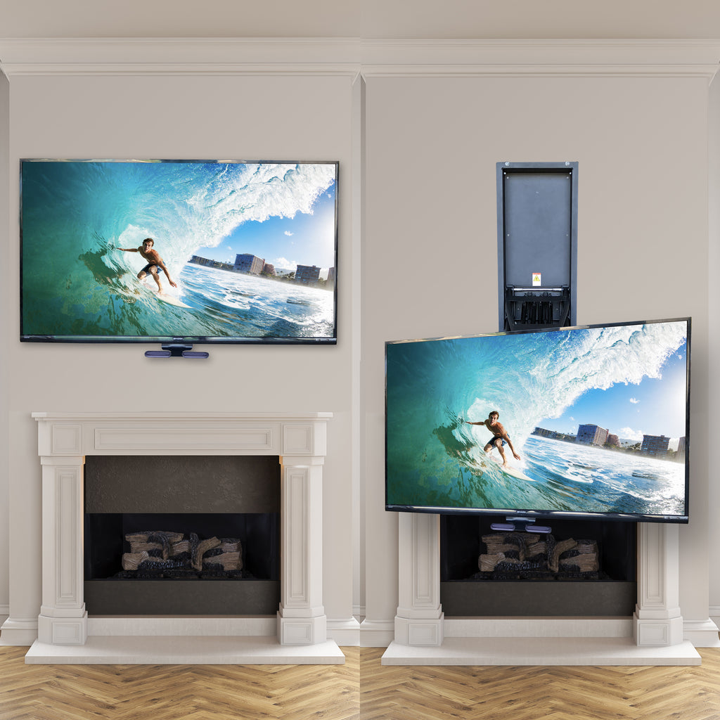Cool Mantelmount Mm750 Pro Above Fireplace Pull Down Tv Mount Download Free Architecture Designs Ogrambritishbridgeorg