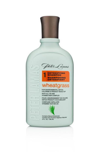 Wheatgrass Detoxifying Shampoo | Removes Product Build Up & Excess Oil