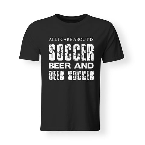 Mens - Beer Soccer T-shirt