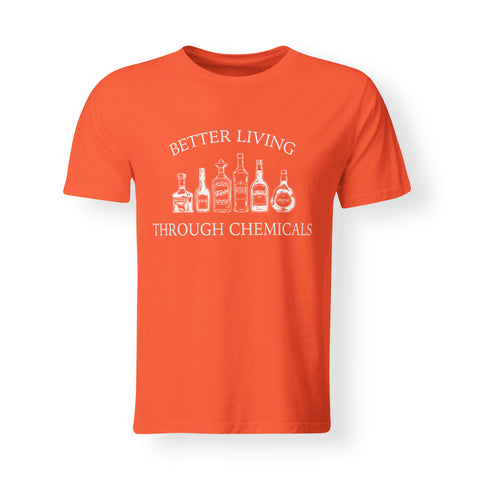 Mens - Better Living Through Chemicals - Triblend T-shirt