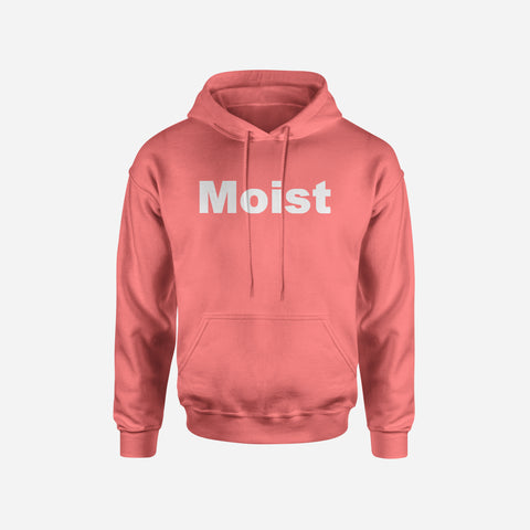 MOIST Heather Raspberry Hoodie/Sweatshirt