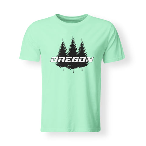 Mens OREGON Tree T-shirt