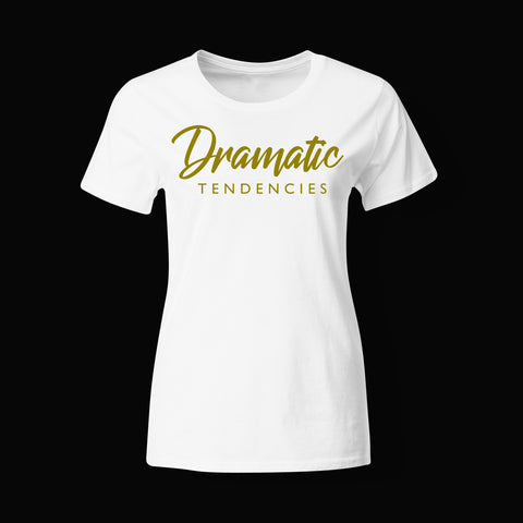 Womens Dramatic Tendencies Triblend T shirt ~ 2 Colors Available!