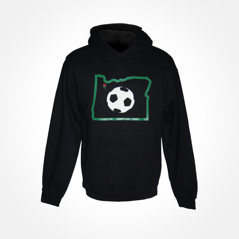 Unisex & Youth Oregon Portland Rose Soccer Hoodie