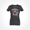Womens - I Love Portland - Coffee T-shirt