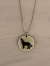 Howling Wolf Mood Necklace