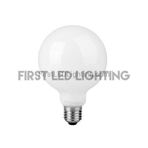 8W (40W Equivalent) G25 Globe LED Light Bulb - Warm White 2700K-Globe-Tuwago-First LED Lighting
