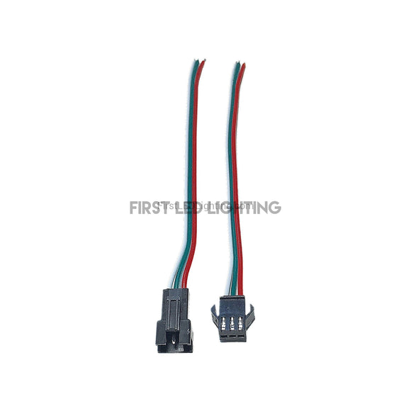 Digital RGB Locking Clip Connector - Female-First LED Lighting Center