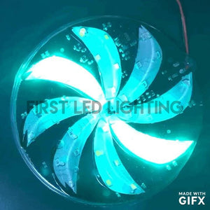 Large Spinning RGB LED Wheel Module-First LED Lighting Center