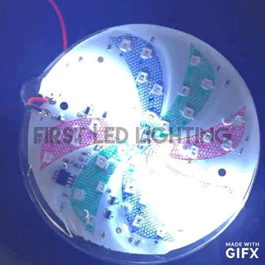 Medium Spinning RGB LED Wheel Module-First LED Lighting Center