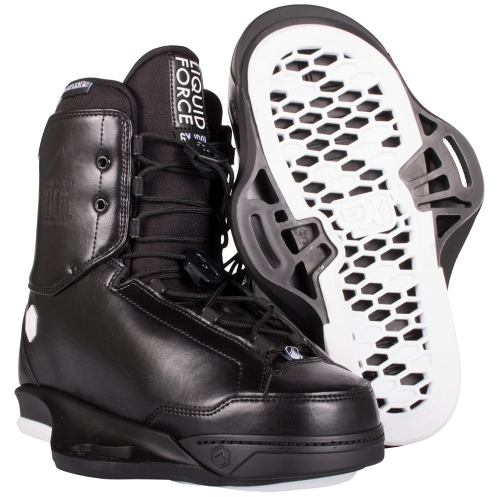 Liquid Force Idol 6X Wakeboard Bindings - Black