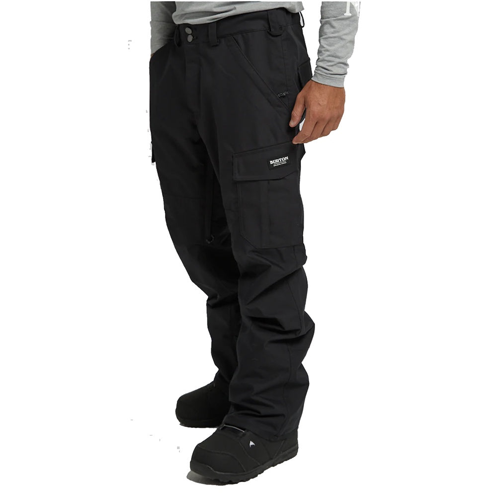 Burton Men's Cargo Pant - Relaxed Fit - True Black