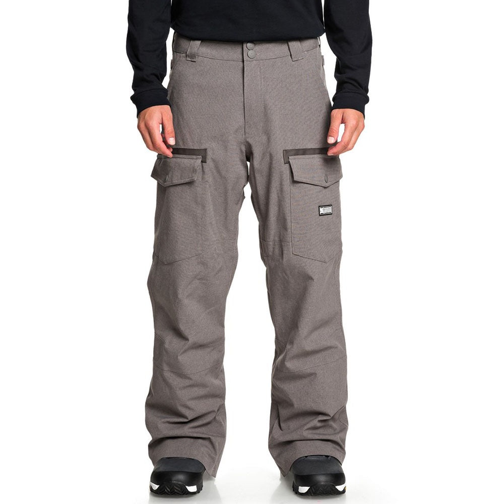 DC Men's Code Pants - Dark Gull Gray