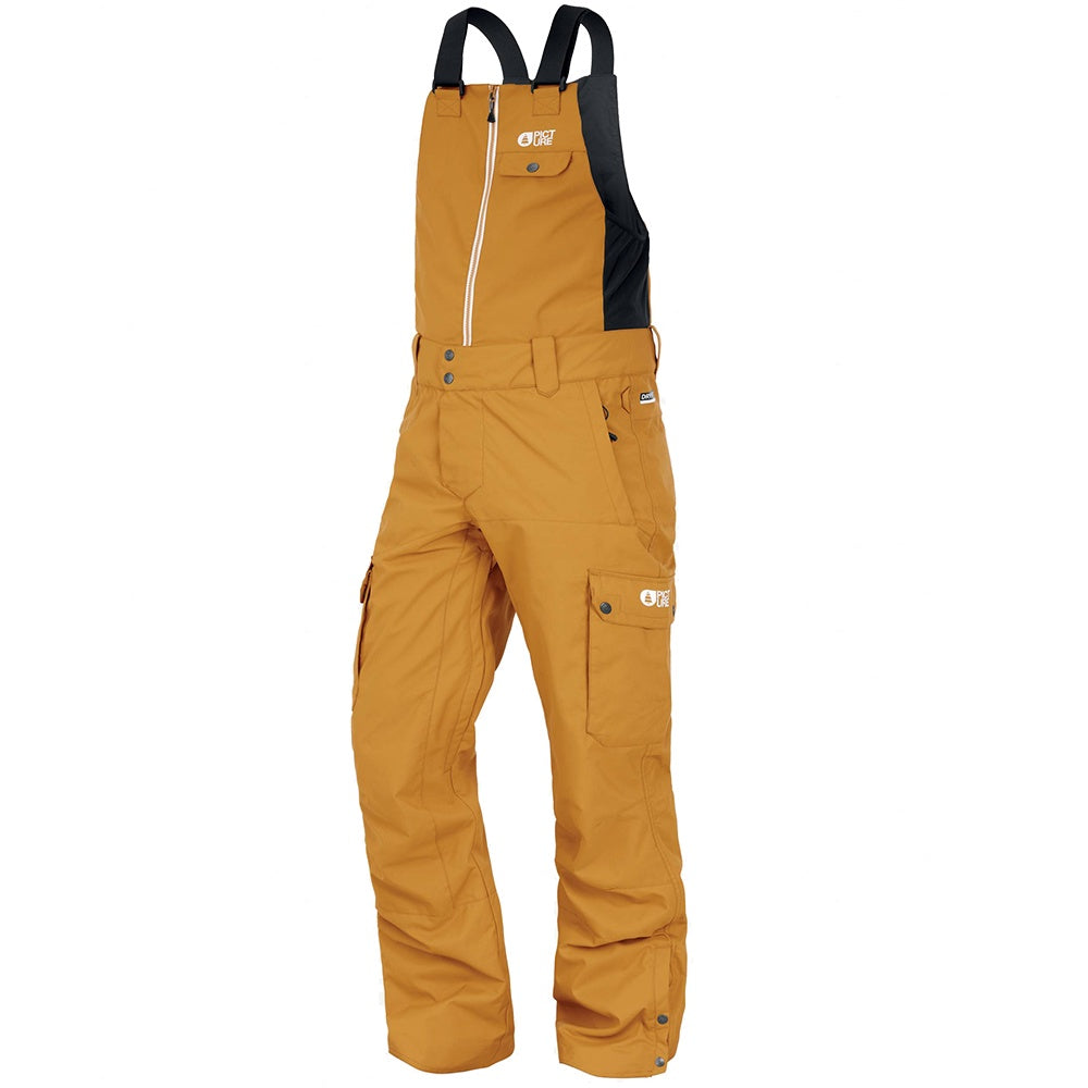 Picture W21 Men's Charles Bib Pants - Camel
