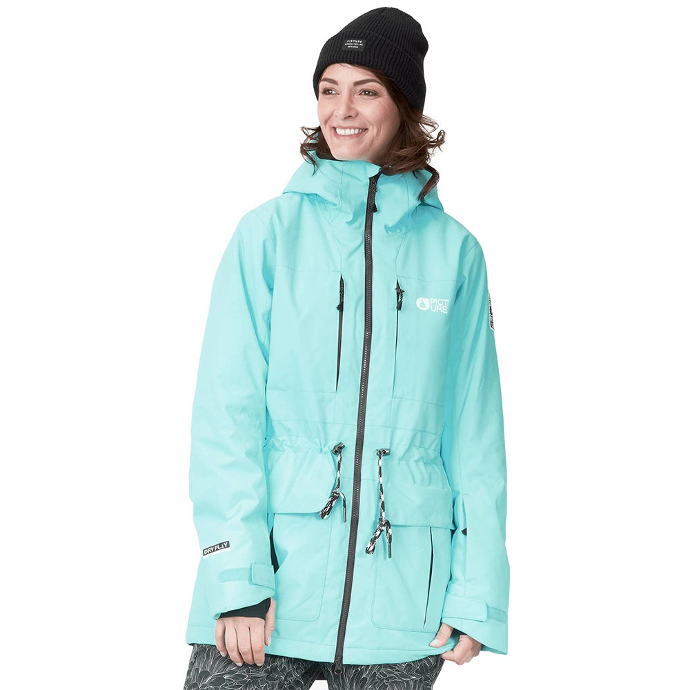 Picture W21 Women's Apply Jacket - Tourquise