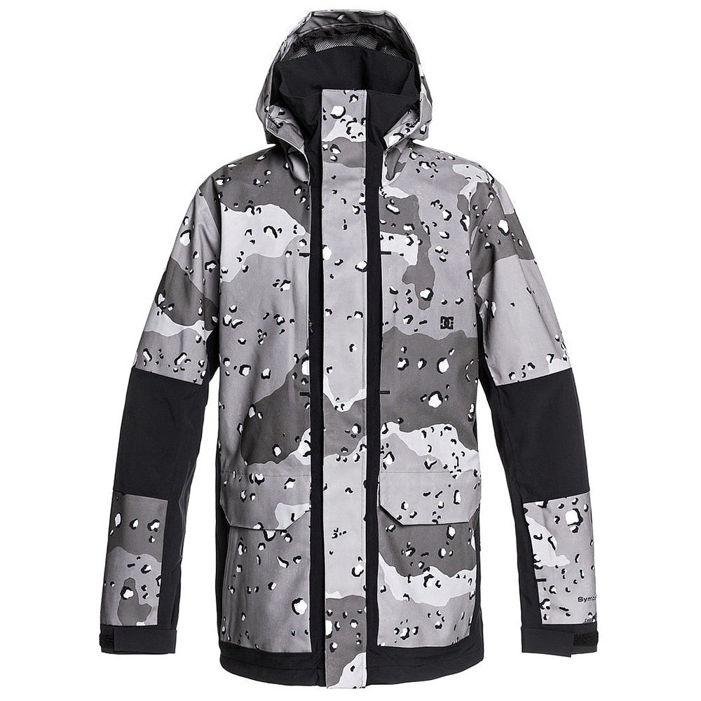 DC Men's Command Jacket - Chocalate Chip Greyscale Camo