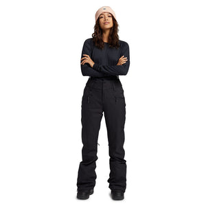 Burton Women's Marcy High Rise Pant - True Black