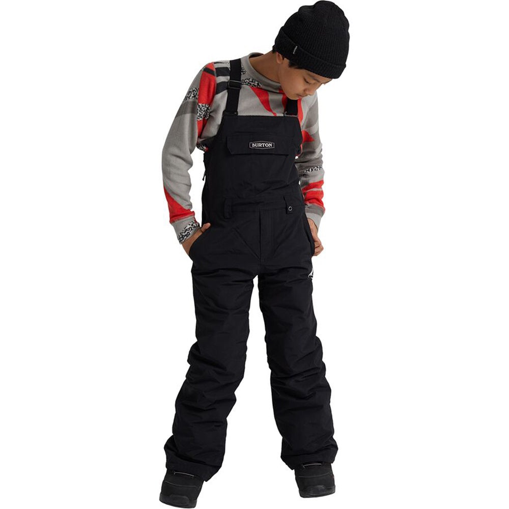 Burton Kids' Skylar Bib Pant - True Black