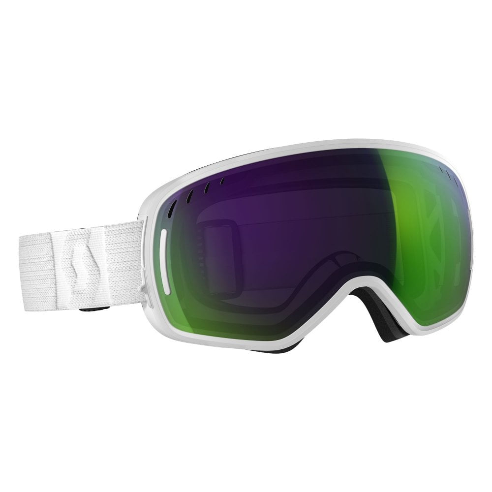 Scott 19 LCG Goggles White