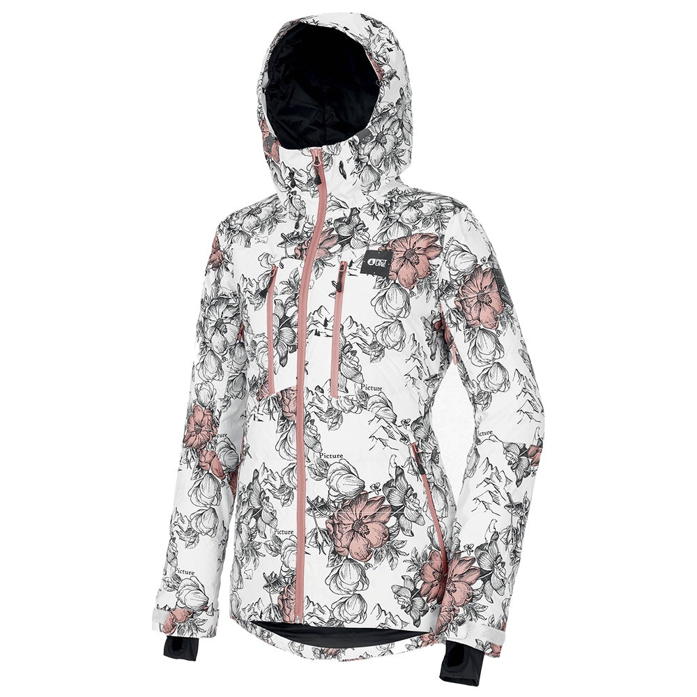 Picture W21 Women's Pluma Jacket - Peonies White