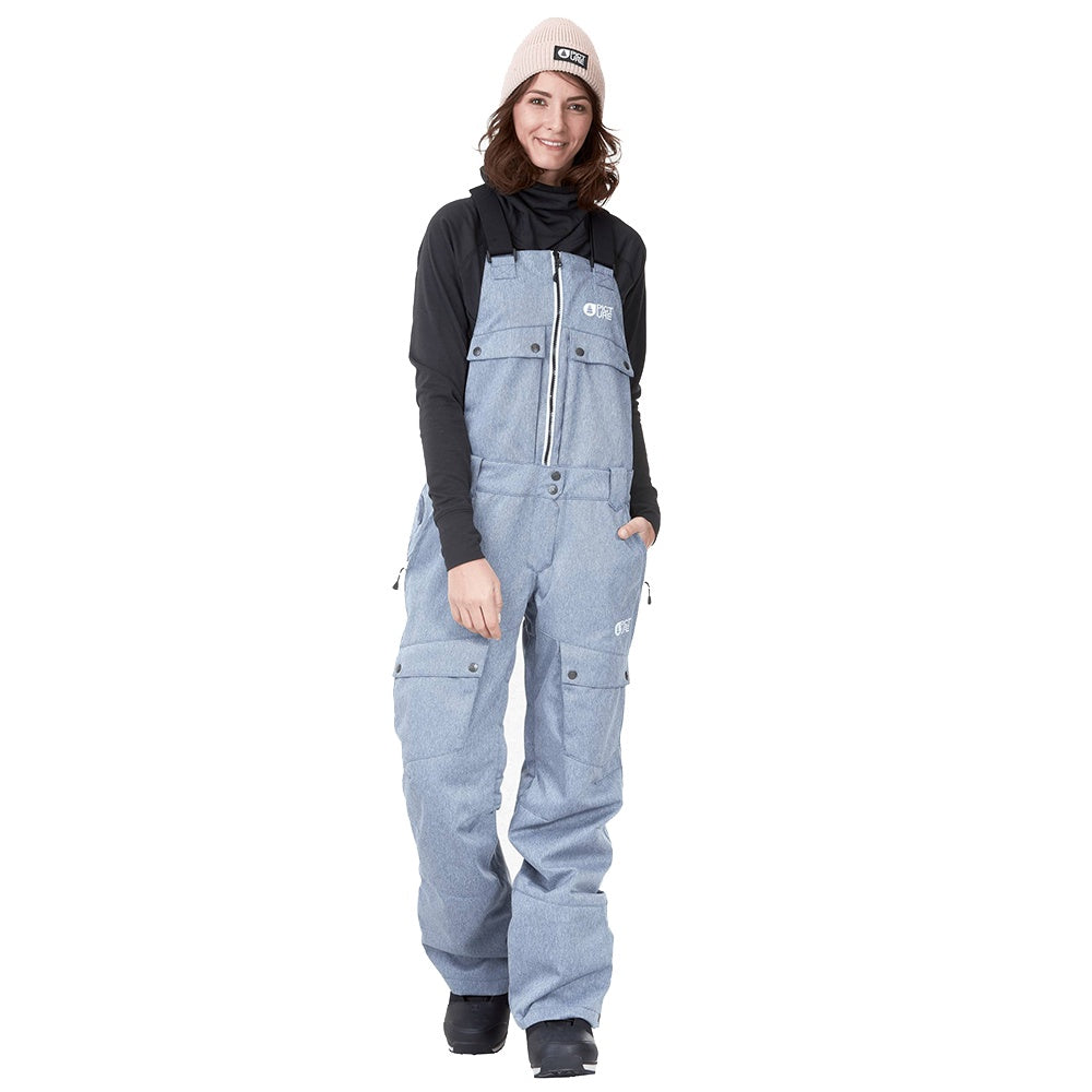Picture W21 Women's Brita Bib Pants - Denim