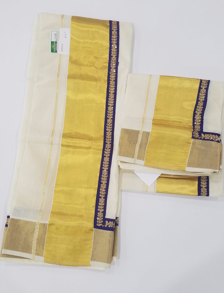 Custom made Set Mundu
